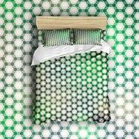 Achtergrond Patroon Print Bed Set Intelligente Ontwerp Cirkel Vormen Beddengoed Sets 4 Stuks