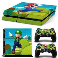 Mario & Luigi PS4 Skin Sticker
