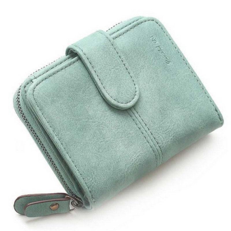 Unistyle Nubuck Leather Women Short Wallets Ladies Fashion Small Wallet Coin Purse Female Card Wallet Purses Money Bag жилеты unistyle жилет