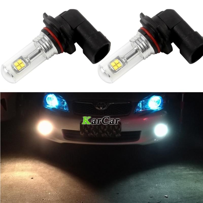 Nove 2x 40W LED čip za automobil XBD 572LM 9005 Vrhunska svijetla svjetla za maglu H10 HB3 Auto dnevne svjetiljke 12V 24V 9145 9140 LED žarulje za vožnju