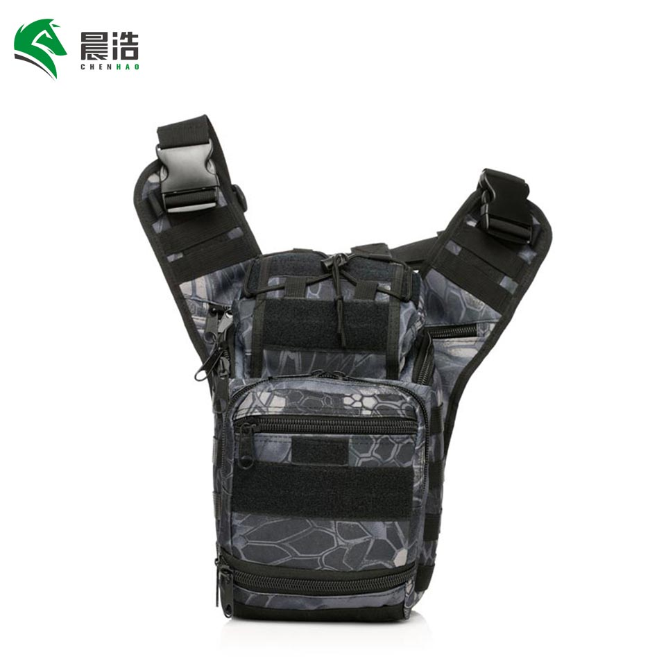 CHENHAO Legs Pack 600D Oxford Water-resistant Outdoor Strap Bag Military Push Pack Belt Pouch Travel Camera Money Utility Bag pack of 600 0 6mm