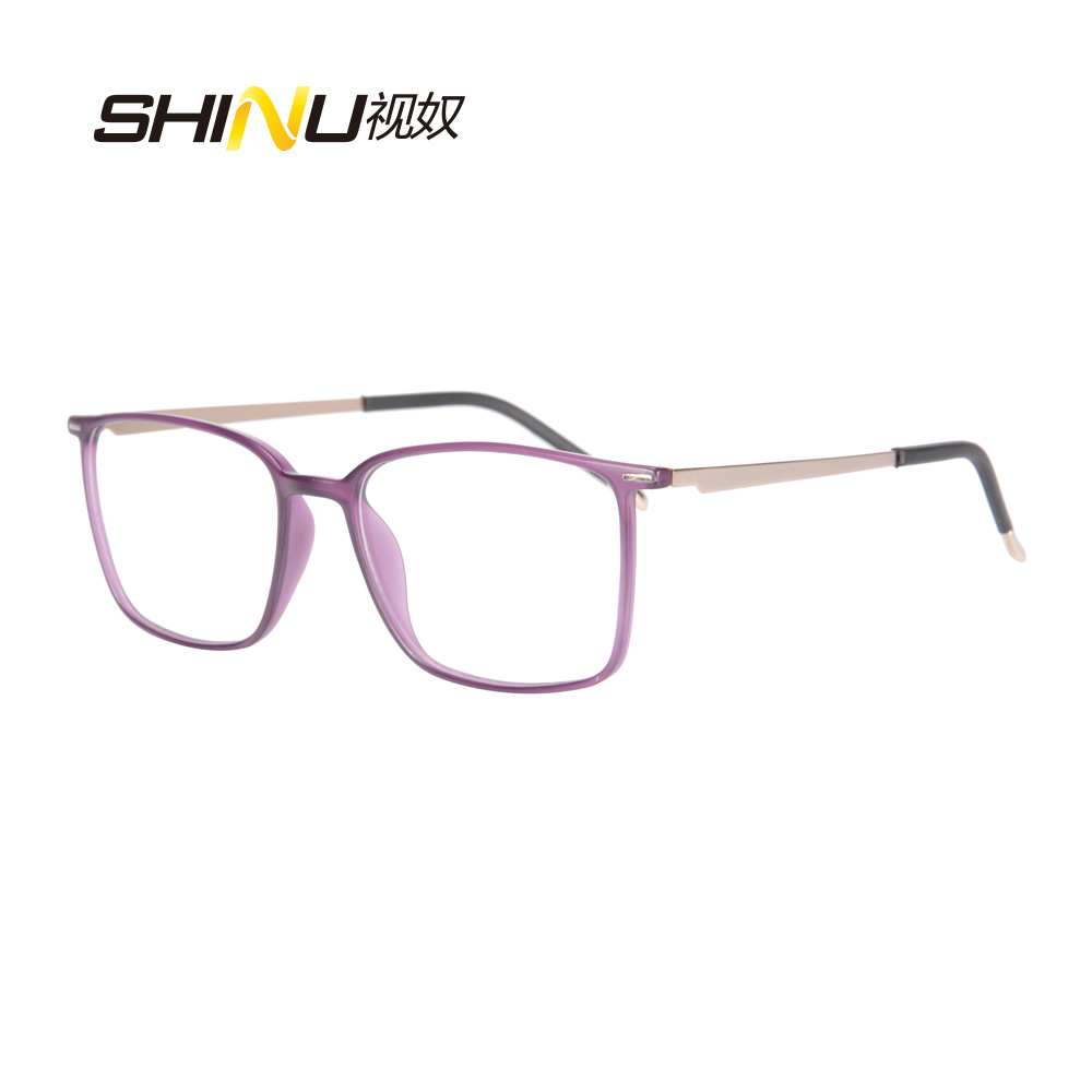 Ultralight Anti glare Blue Light Proof Progressive Multifocal Reading Eyeglasses Elderly Eyewear Computer Google See Near