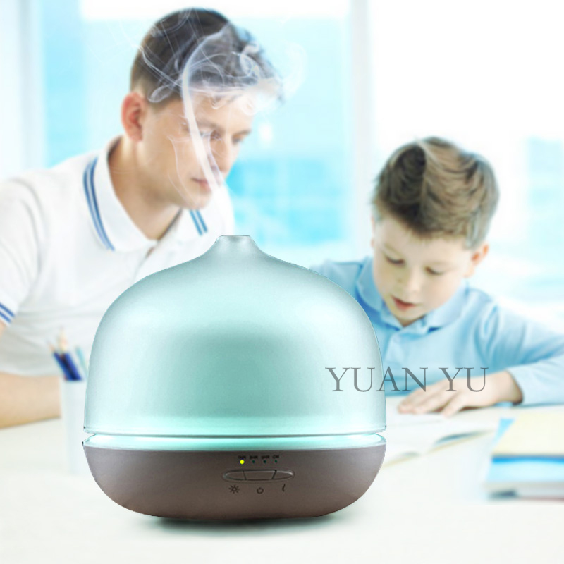 ФОТО New Arrival Ultrasonic Humidifier Steam Aroma Diffuser Vaporizer Tabletop Electric Cooler Air Humidifier Spray Glass Diffuser