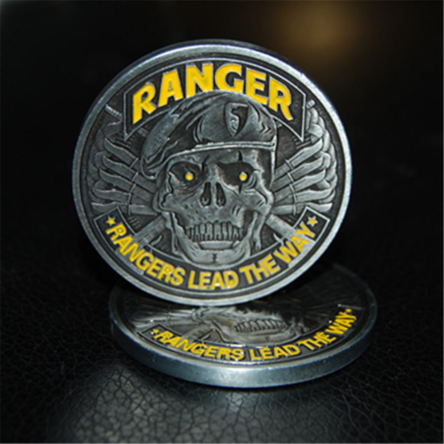 US Army Ranger Challenge Coin - Rangers Lead The Way (5)
