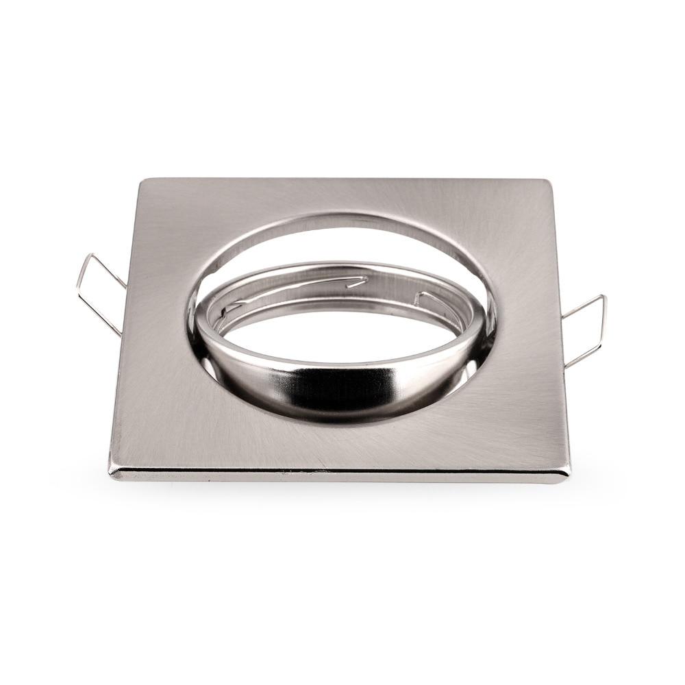 Spotlights Recessed Led Ceiling Down Light Holders /fixtures Frame For Gu10 Mr16 Gu5.3 E27 Spotlight Fittings Hot Sale 50-70% OFF Lights & Lighting