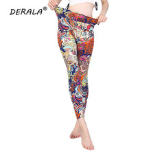 894ec63610ee3 Derala High Waisted Buttery Soft Paisley Print Women Workout Legging  Bandanna Fitness