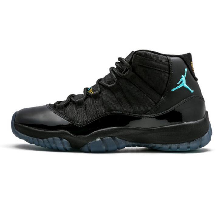 Jordan Retro 11 Man Basketball Shoes Win Like 96 University Gamma Blue Bred High Black Athletic AJ11 Sport Sneakers 40 46