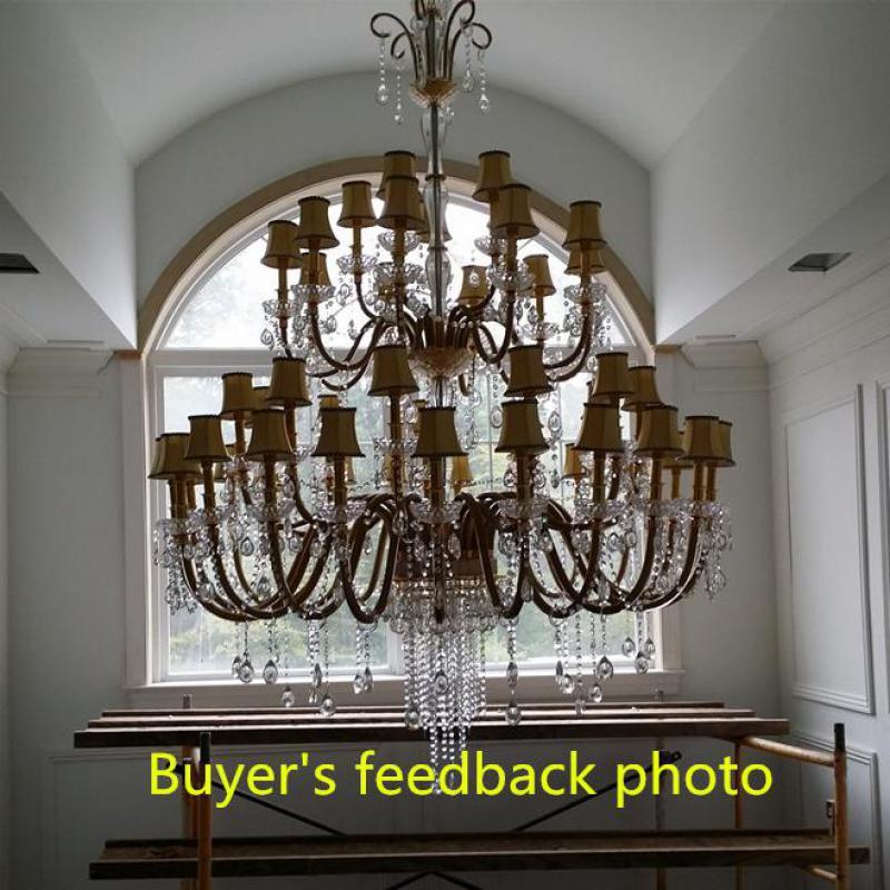 Uriașe 48 buc Modern candelabru iluminat led lumina corpuri pentru - Iluminatul interior - Fotografie 6