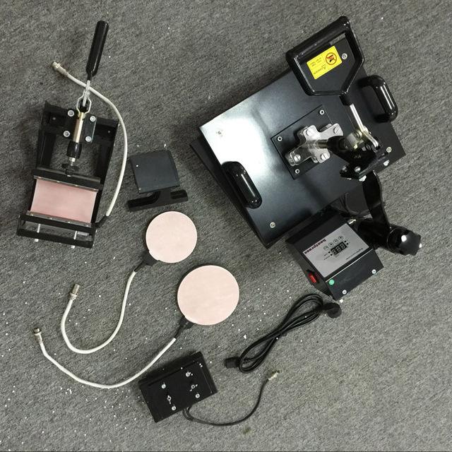 6 en 1 multifunción máquina combinada de la prensa de transferencia térmica/combo máquina de la prensa