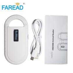 Бесплатная доставка ISO11784/5 FDX-B животных pet id Читатель передатчик с интегральной схемой USB RFID идентификационный портативный сканер