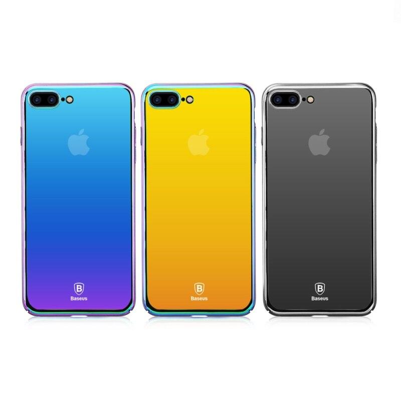 0c8912c6d1 BASEUS coque capa For iPhone 6 6s Plus 7 7 Plus Case Glass Case ...