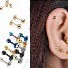 US $0.74 20% OFF|10pcs Medical Titanium Steel Stud Earring Punk Rod Flat T Type Screws Small Earrings Male Ear Bone Nail Lip Piercing Jewelry -in Body Jewelry from Jewelry & Accessories on Aliexpress.com | Alibaba Group
