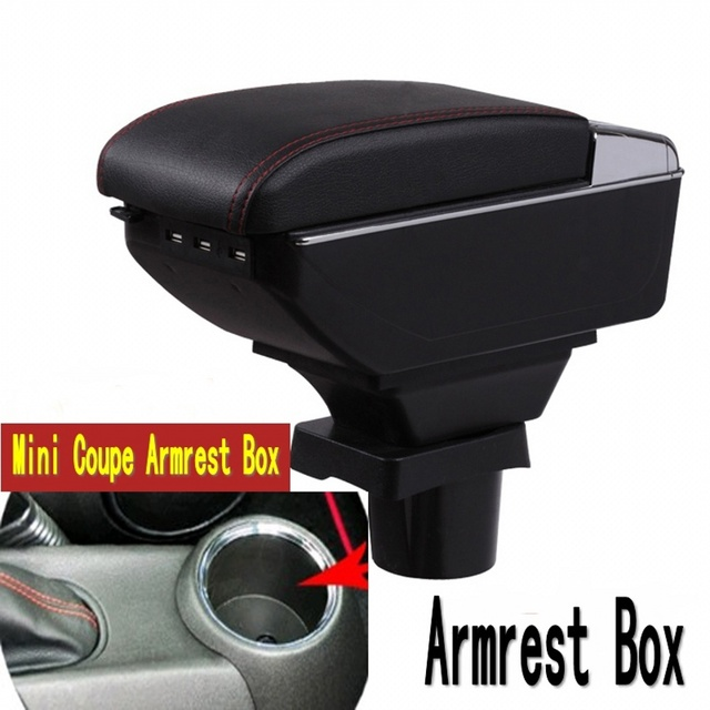 For Mini Coupe Armrest Box R50 Hatch Ii Gen In Armrests From