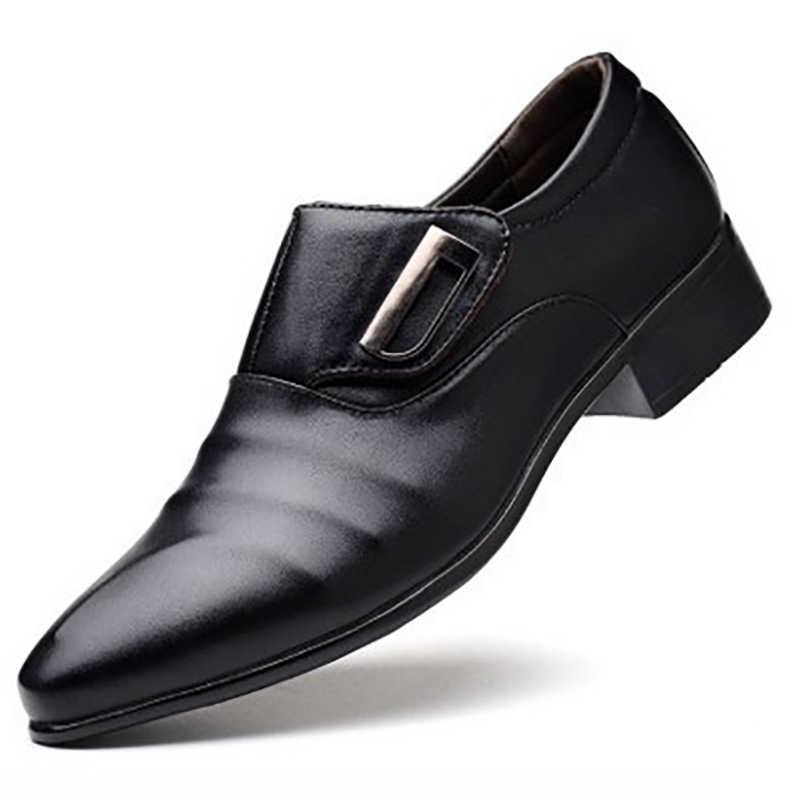 2019 Мужская коровья кожа оксфорды обувь натуральная кожаная Рабочая обувь классические Броги мужские формальные повседневные Bullock Свадебные модельные туфли