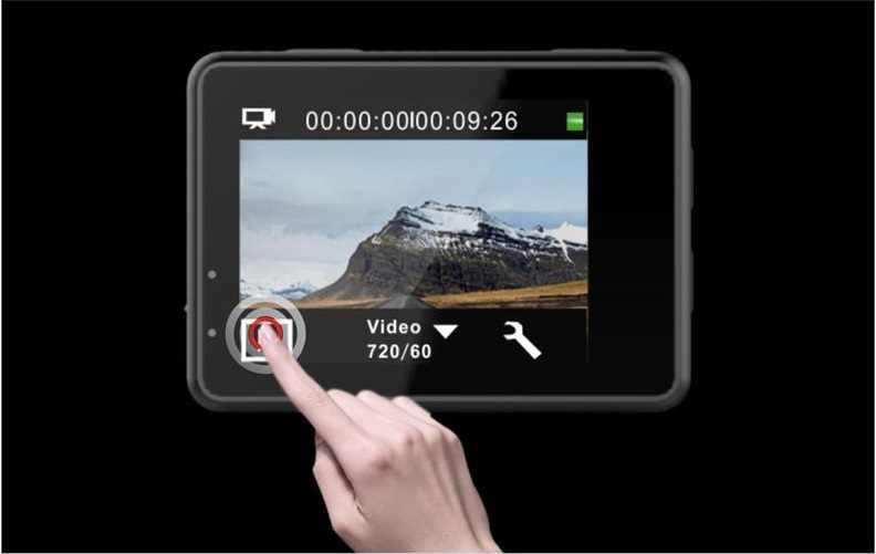 Pantalla táctil Ultra 4 K 30FPS WiFi cámara de doble pantalla de Control remoto videocámara 30 M Cámara de Acción subacuática casco de bicicleta cámara