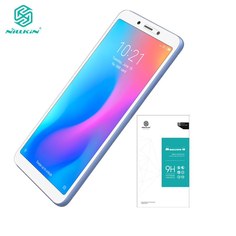 Xiaomi Redmi 6A Tempered Glass Redmi 6A Glass 5.45 inch Nillkin Amazing H 0.33MM Screen ProtectorXiaomi Redmi 6A Tempered Glass Redmi 6A Glass 5.45 inch Nillkin Amazing H 0.33MM Screen Protector
