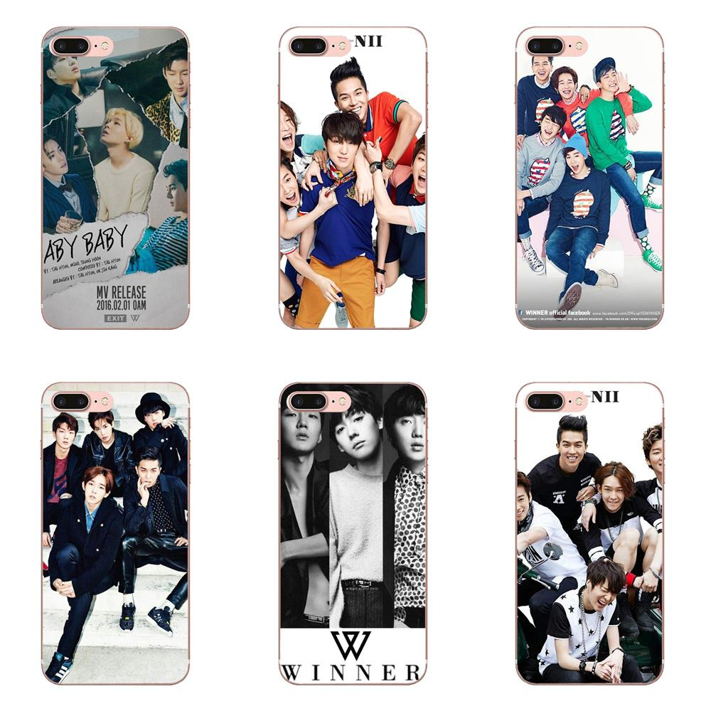 Soft TPU Phone Capa Winner Kpop For Galaxy J1 J2 J3 J330 J4 J5 J6 J7 J730 J8 2015 <font><b>2016</b></font> 2017 2018 mini Pro image