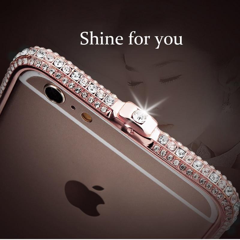 Moda de luxo Strass Quadro Case para iPhone 8 7 6 6 s plus Caso Glitter para iPhone xr xs max x xs Metal Caso Diamante menina