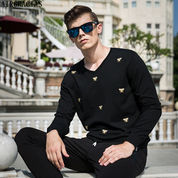 Airgracias hot sale mens fashion thin wool knitted sweaters high quality mens casual animal embroidery pullovers.jpg 250x250