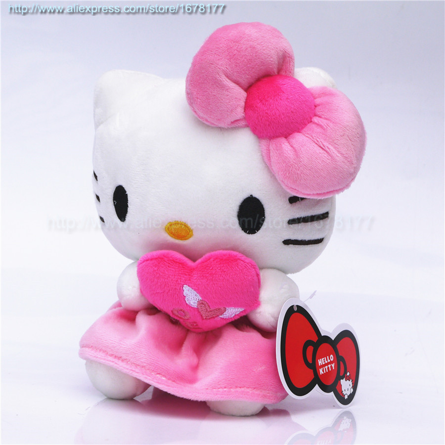 cute baby pink hot pink hello kitty plush hello kitty love angel wing collection wedding toy. Black Bedroom Furniture Sets. Home Design Ideas