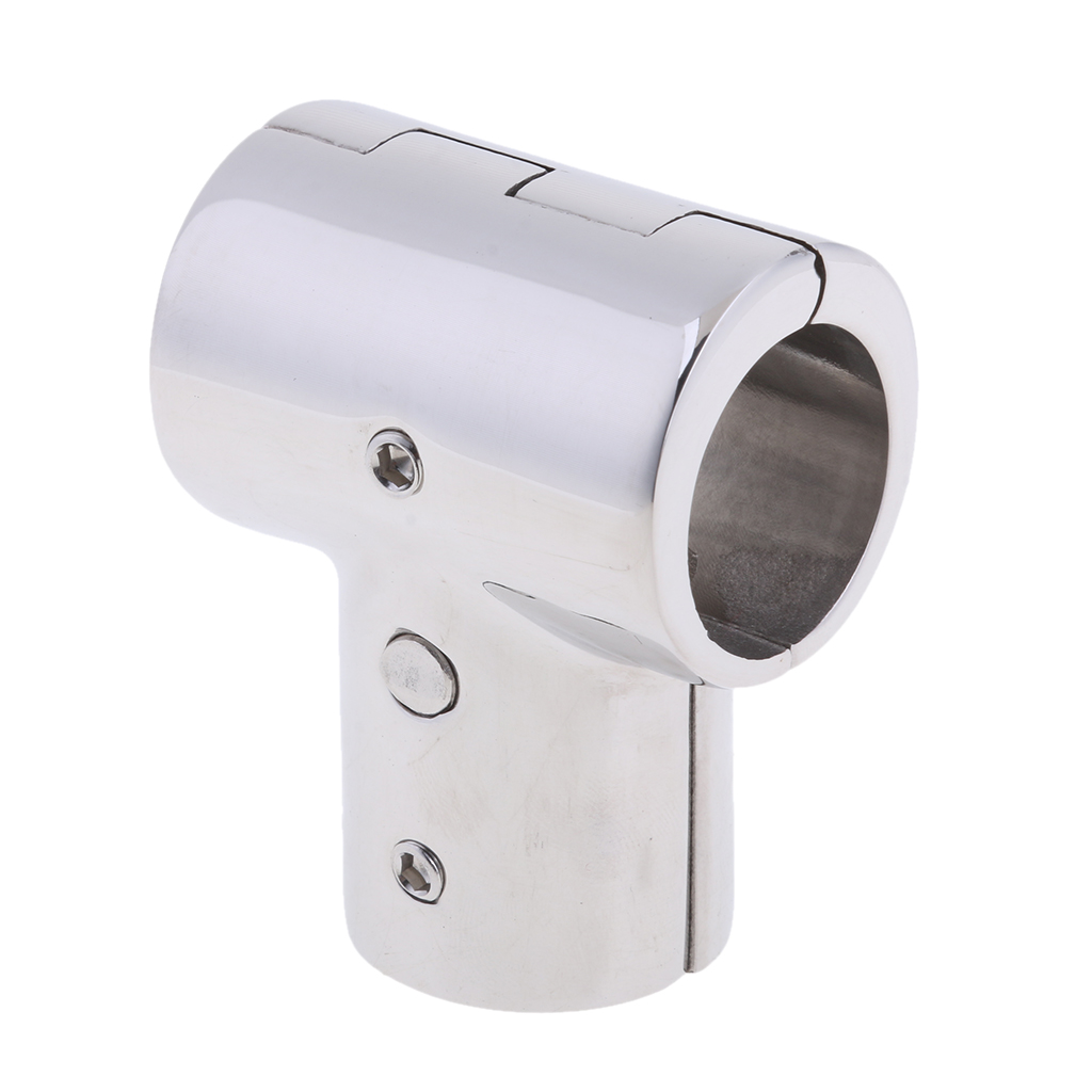 Image 3 - Heavy Duty 316 SS Boat Hand Rail Fitting  90 Degree T/Tee Hinged/Split for 1 inch Tube-in Marine Hardware from Automobiles & Motorcycles