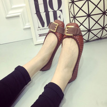 New arrival knitted women single shoes