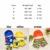 Chicos 2 unids/set Niños del traje de Baño de Manga corta Traje de Dibujos Animados traje de Baño + gorro de baño Del Bebé Niños traje de Baño Los Niños traje de baño T92