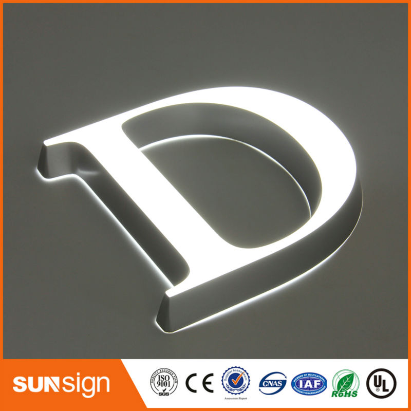 Decorative Frontlit Acrylic Led Sign