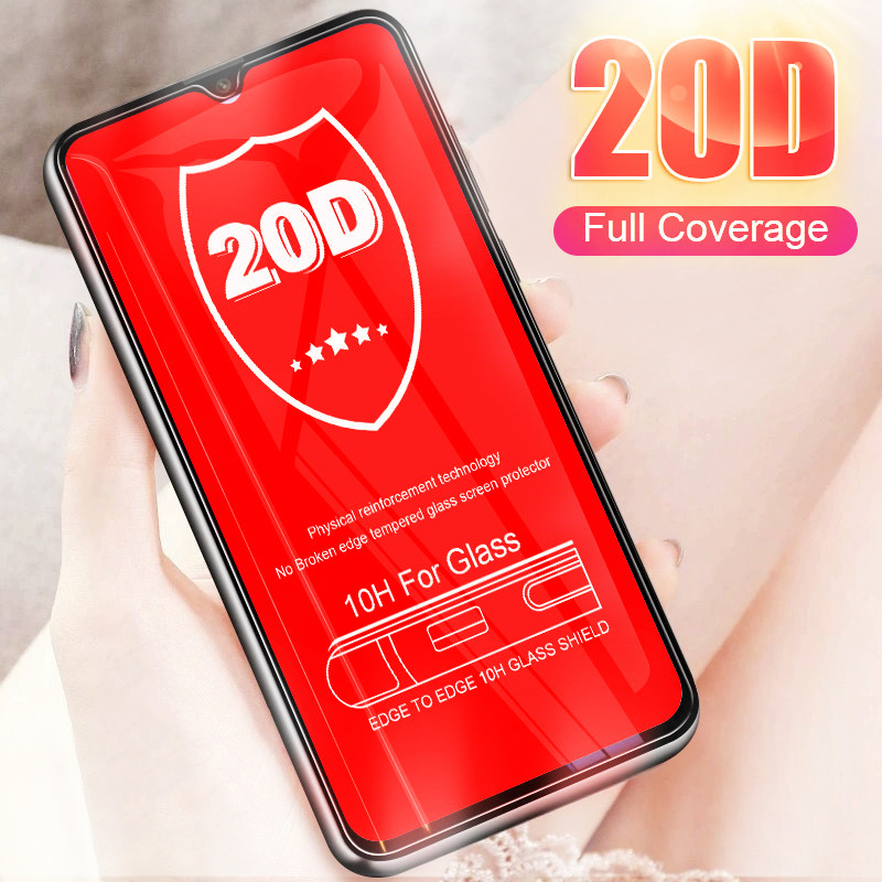 20D Curved Covering Full Cover Tempered Screen Glass Film On The For Oneplus 5 5T 6 6T 7 Pro Protector Film Protective Glass