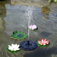 Aquarium Tool Solar Water Fountain Solar Fountain Artificial Outdoor Family Garden Park Fish Tank Decoration Accessories