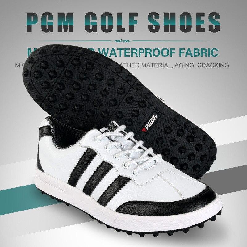 2018 PGM chaussures de Golf hommes ultralégers chaussures de sport imperméables respirant anti-dérapant baskets pour homme grande taille - 5