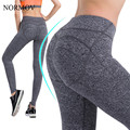 NORMOV S-XL 2 Colors Women's Push Up Leggings Workout Push Up Legging Active Cotton Leggings Slim Adventure Time Leggings Women