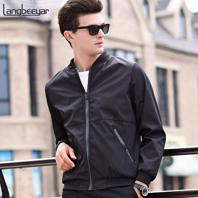 2019 New Fashion Jackets Men Bomber Trend Street Style Overcoat