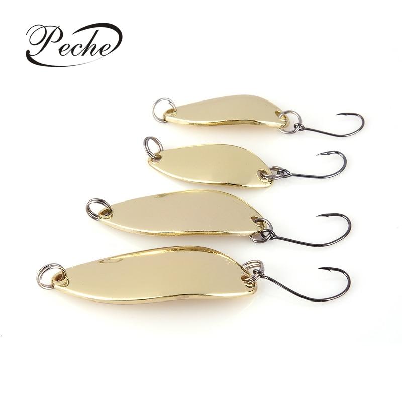 Рыболовные приманки Peche Spoon, Рыбалка воблер блесна, блесна, блестки, металлические джиггинг для ловли карпа, Верховая вода, окунь|Наживки|   | АлиЭкспресс