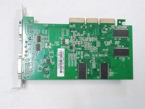 Image 3 - Yeni orijinal FX5500 256M AGP ekran kartı AGP4X 8X yükseltme tercih edilir, daha güçlü FX5200 ATI9550