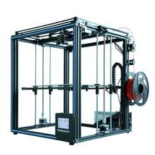Горячая продажа Tronxy X5SA 3d принтер DIY комплект полностью металлический 3,5 дюймов сенсорный экран Высокая точность автоматическое выравнивание PLA нити в подарок