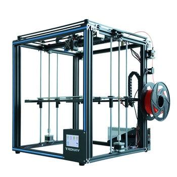 Kit DIY Impressora de venda quente Tronxy X5SA 3D Full metal 3.5 polegadas Touch screen de Alta precisão Auto nivelamento PLA filamento como o presente