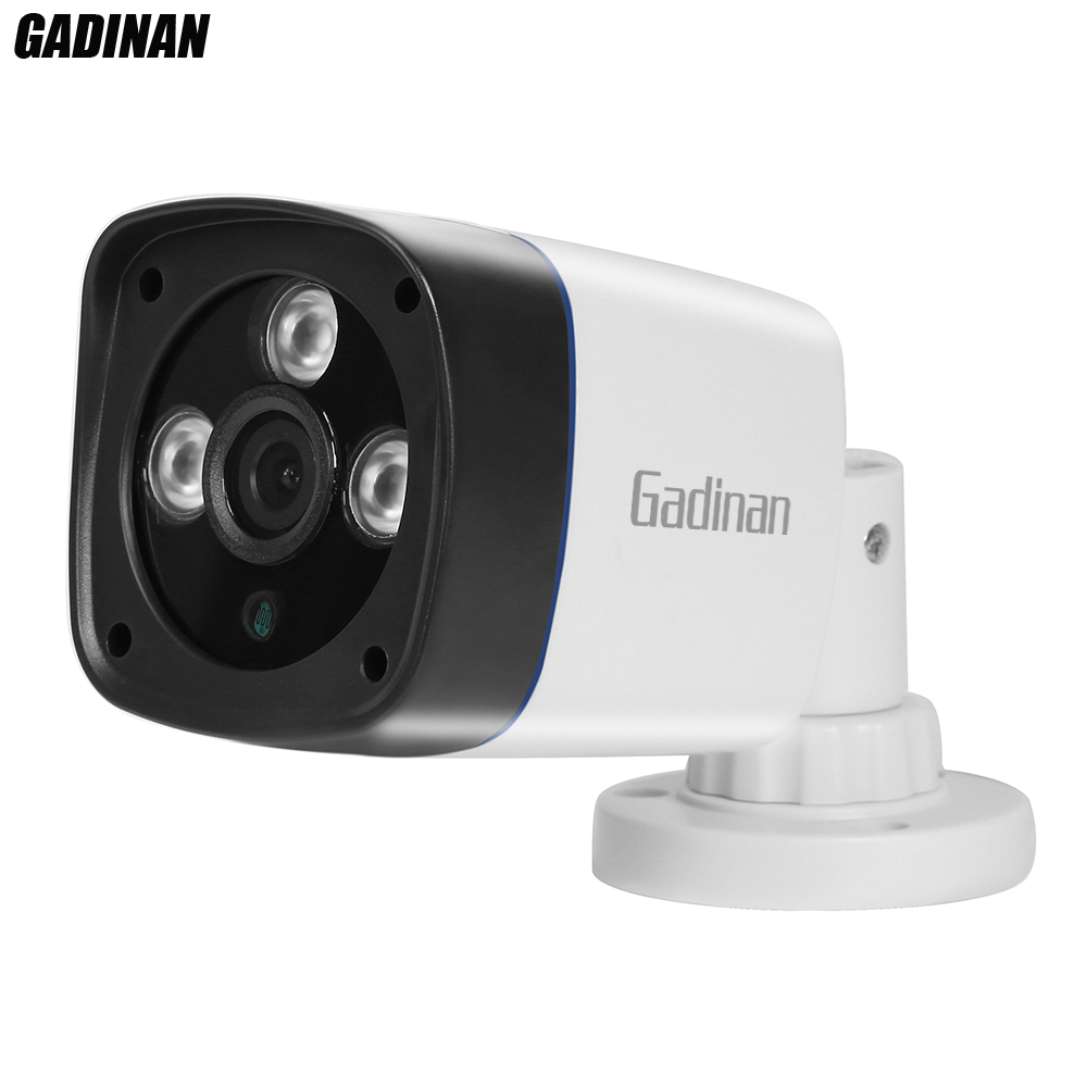 GADINAN Full HD 1080P 2MP Security IP Camera Outdoor Camera IP HI3518E DC 12V or 48V PoE Optional H.264 ABS Plastic ONVIF Xmeye