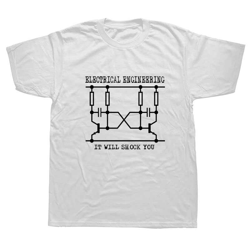 ab57589e77 Make Your Own Shirt Electrical Engineering T-Shirt Cool Funny Graphic  Printed T Shirts