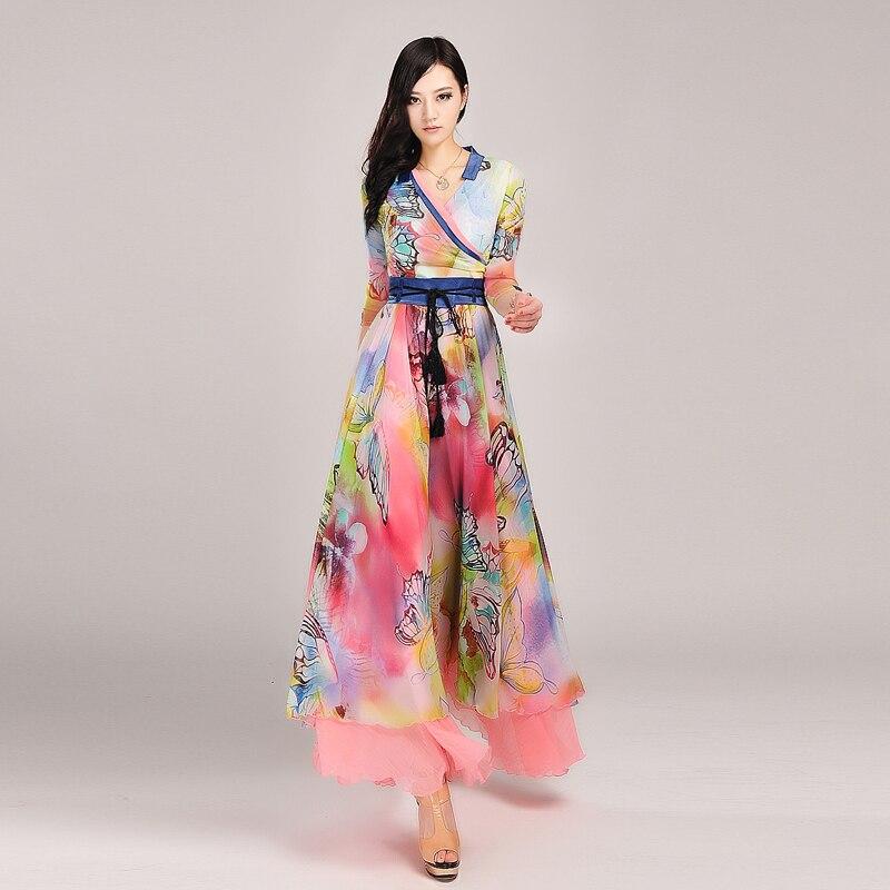 Womens Summer Maxi Dresses Photo Album - Reikian