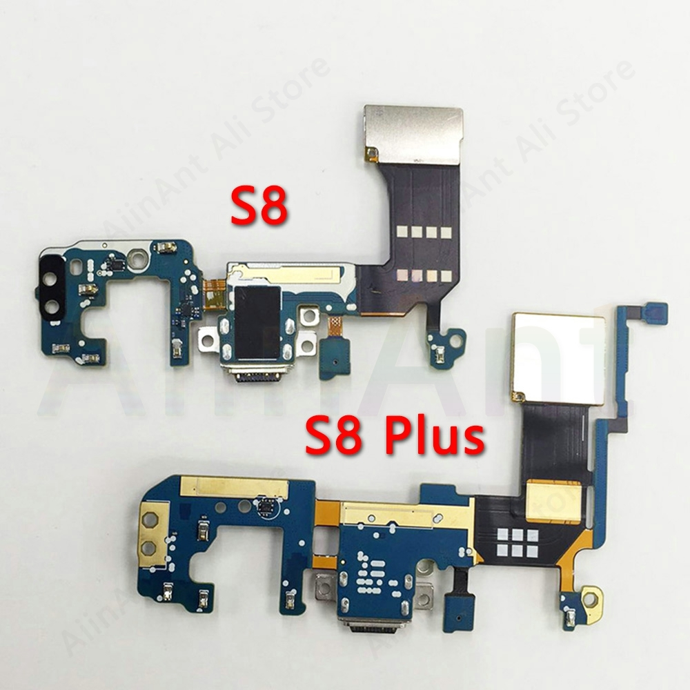 For Samsung Galaxy S8 G950u G950f G950n S8 Plus G955u G955f G955n Original USB Charging Port Charger Dock Connector Flex Cable