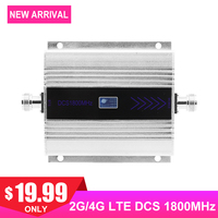 4G DCS 1800MHZ 2G Cellular Signal Amplifier Mini LCD Display Cell Mobile Phone Payload Signal Internet Communication Repeater /