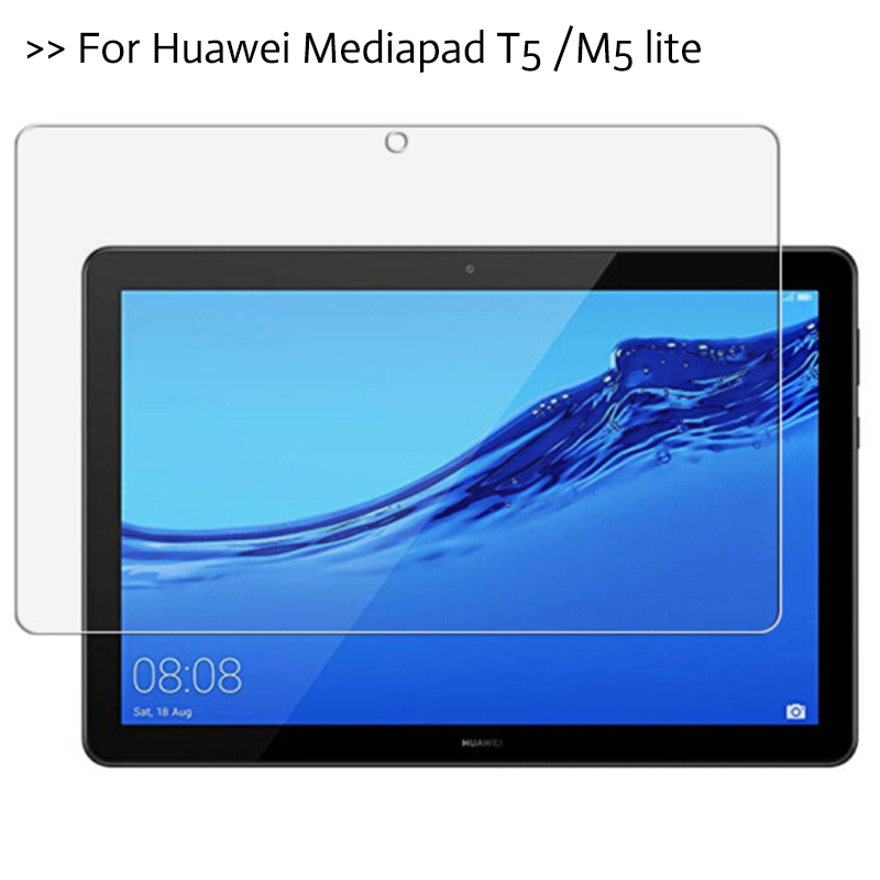 For Huawei MediaPad T5 10 July 2018 10.1 Inch Tablet Screen Protector For Mediapad M5 Lite 8 10'' Protective Film Tempered Glass