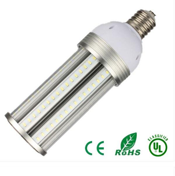 Super luminosité E39/E40 100 V-277 V 65 W 80 W 100 W 150 W IP64 LED haute baie de maïs remplacer pour les halogénures métalliques légers/CFL
