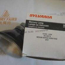 """SYLVANIA 100 Вт ртутная лампа, H44GS-100M 100 ватт средней юбкой винт основание SPOT R H44GS-MDSKSP PAR38, подстветка лампочка """"UVA"""""""