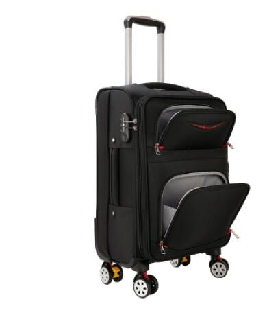 Men Travel Luggage Suitcase Oxford Spinner suitcases Travel Rolling luggage bags On Wheels Travel Wheeled Suitcase trolley bags