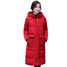 Здесь можно купить  Women 2017 Winter Jacket  Winter And Autumn Thick Long Wear High Quality Parkas Winter Jackets Solid Outwear Women Hot