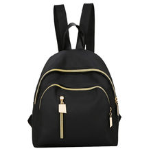 Women's Fashion Solid Color Backpack Multi-Function Shoulder Bag Casual Backpack Oxford Material Hollow Out Decoration bolsa(China)