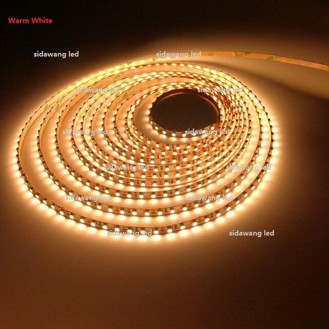 CRI> 95 + Ra 5mm LED Strip Verlichting 3528SMD 12Vdc 5 M 120 leds/m ...