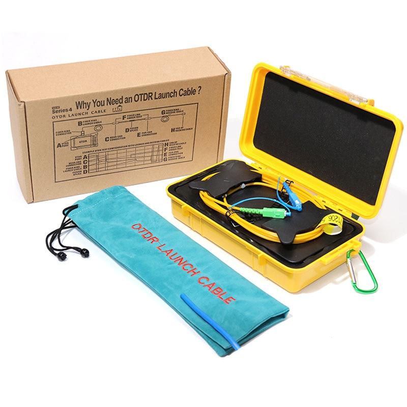SC UPC SC APC Single Mode 9 125um 1310 1550nm 500M OTDR launch cable box Fiber